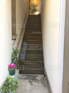 階段の先にの写真・画像素材[2740392]