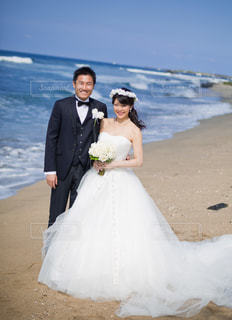 一年越しの結婚式の写真・画像素材[1260245]