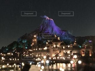 夜の街の写真・画像素材[1043537]