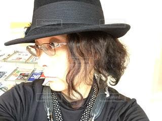 サックス演奏用ヘアスタイル帽子付き - No.1044241