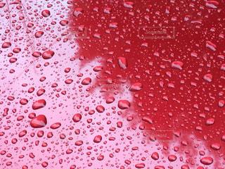 雨の中赤い車 - No.1068647