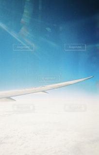 雪に覆われた飛行機の写真・画像素材[1109381]