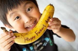 子ども,食べ物,果物,人,幼児,少年,バナナ
