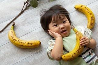 子ども,赤ちゃん,幼児,バナナ