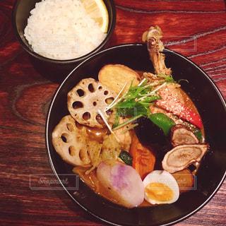 札幌のスープカレーの写真・画像素材[1057290]