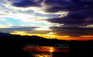 自然,雲,夕暮れ,景観,青空 虹