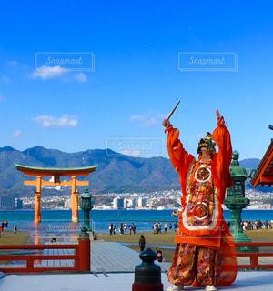 厳島神社 天長祭の写真・画像素材[1047632]
