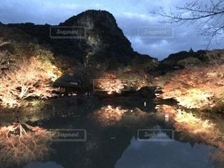 御船山の秋の写真・画像素材[1046006]