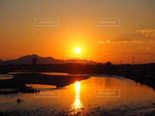 自然,風景,空,太陽,雲,夕暮れ,水面