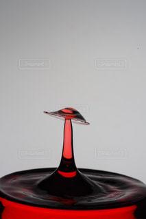 傘,水,水滴,水玉,グラス,キノコ,雫,しずく,水滴アート