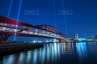 神戸の夜景のライトアップの写真・画像素材[3360155]