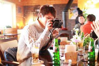 撮る人、撮られる人の写真・画像素材[1051284]