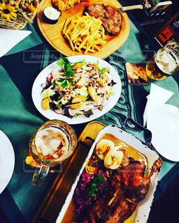プラハの食事の写真・画像素材[1053746]