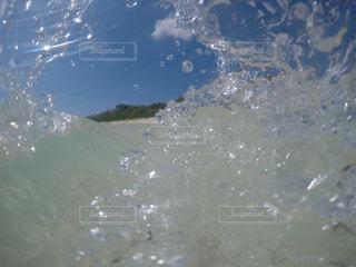 水の大きな体の写真・画像素材[1386738]