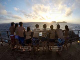 ビーチの人々 のグループの写真・画像素材[1428137]