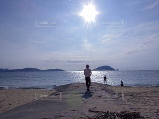 志賀島の海の写真・画像素材[1104662]