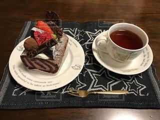 バレンタインケーキの写真・画像素材[1066418]