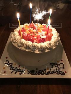 バースデーケーキの写真・画像素材[1085586]