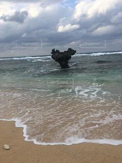 ハートロック in 沖縄の写真・画像素材[1051541]