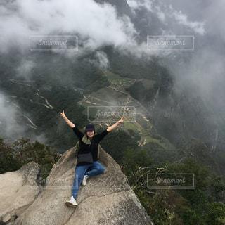 ワイナピチュ 山頂の写真・画像素材[1052881]