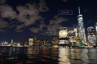 ニューヨーク夜景の写真・画像素材[1053331]