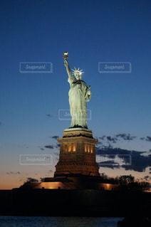 自由の女神像の写真・画像素材[1053344]