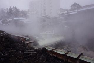それから出てくる煙の写真・画像素材[1053234]