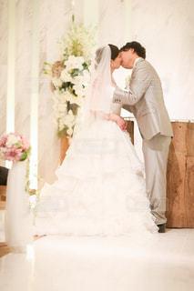 誓いのキスの写真・画像素材[1239326]