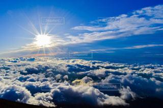 空の雲の写真・画像素材[1404235]