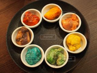 レインボーホルモン。全て食材由来の成分。どの色がなにを使用しているかわかりますか?(*^▽^*)の写真・画像素材[1056244]