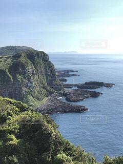 自然,風景,海,夏,絶景,島,水面,山,旅行,夏休み,眺め