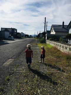 お散歩の写真・画像素材[1101099]