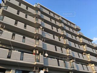 日当たりの良いマンションの写真・画像素材[1057995]