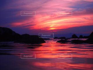 空,夕日,ビーチ,夕焼け,浜辺,湘南,葉山,サンセット,一色海岸,三浦半島,黄昏時,小磯の鼻,安らげる場所