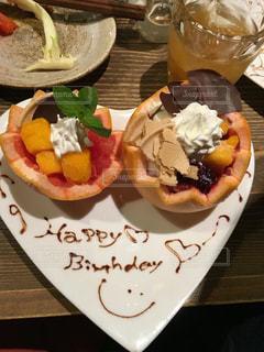 ハート,誕生日,お祝い,記念日,お皿,祝い