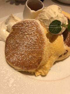幸せパンケーキの写真・画像素材[1148331]