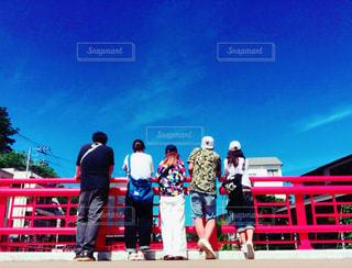夏のバスツアー日帰りの旅の写真・画像素材[1359356]
