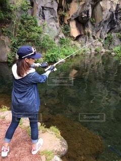 釣りの写真・画像素材[3737700]