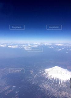 上から見下ろす空の写真・画像素材[1094984]