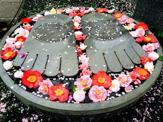大仏様の花まつりの写真・画像素材[1122162]