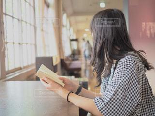 読書の秋の写真・画像素材[1556960]