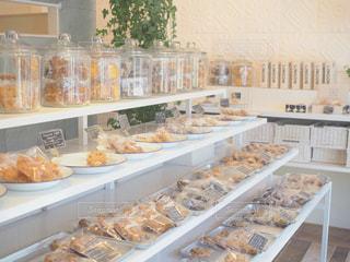 ストアの表示が食品の多くに満ちての写真・画像素材[1557023]