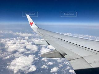空,飛行機,ハート,スカイマーク,B737-800