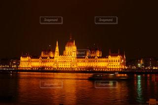 風景,建物,夜,屋外,川,水面,ヨーロッパ,都会,外国,旅行,海外旅行,ハンガリー,ブダペスト,Travel,trip,国会議事堂,1人旅