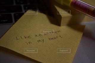 文字,メッセージ,手書き,付箋,手書きメッセージ