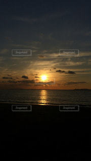 自然,風景,海,空,太陽,ビーチ,雲,夕暮れ,海岸,光