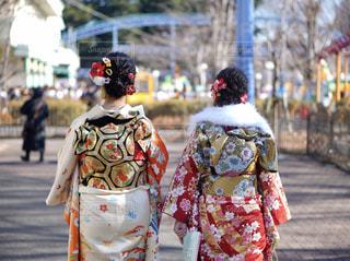 通りを歩く人々 のグループの写真・画像素材[1731542]