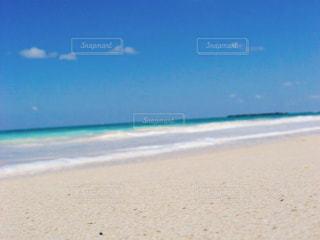 いいお天気のカイルアビーチの写真・画像素材[1094936]
