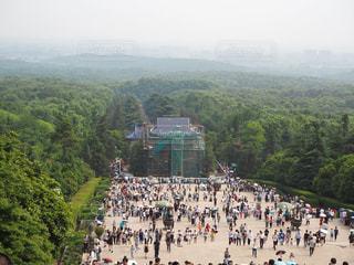 中国南京市「中山陵(孫文の墓)」の写真・画像素材[1819619]