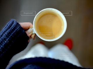一杯のコーヒーの写真・画像素材[937338]
